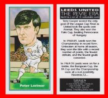 Leeds United Peter Lorimer Scotland 10